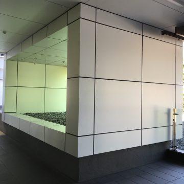Need a non-combustible facade? MondoClad® Solid Aluminium Cladding