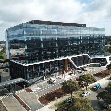 Striking, new Nissan Headquarters uses MondoClad®